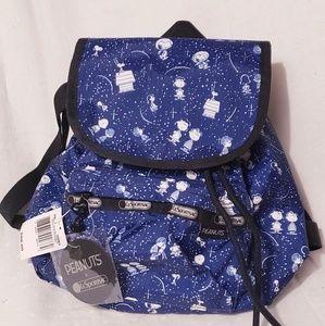 New Peanuts LeSportsac  Backpack